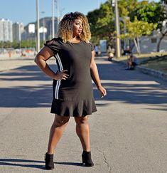 Sport Fashion na @dalisplus! 🖤 . . . #MorenoLook #PlusSize #Plus #LookDoDia #OOTD #OutifitOfTheDay #CelebrateMySize #StreetStyle…