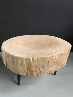 Bijzettafel massief hout - Kleine tafels, bijzettafels en salontafels - Antieke tafels, tafels van oud hout. landelijke tafels. - De Jong Interieur