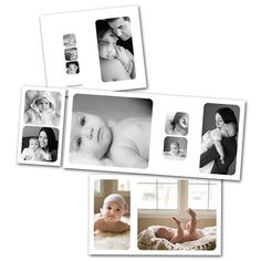 Mod 4x8 Accordion Photoshop template download by PhotographerCafe
