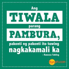 . Tagalog Quotes, Qoutes, Patama Quotes, Hugot Lines, Love Hurts, Pick Up Lines, Ravens, Annie, Circles