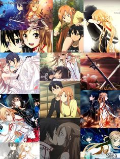 ASUNA & KIRITO... probably only Canon couple I support...