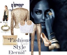 """""""Gold Finger"""" by styled-by-daniela-douk on Polyvore"""
