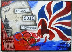 Michelle Webb The Hobby Room UK  London 2012 Olympics canvas