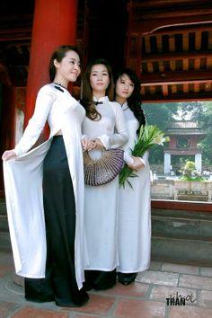 Gracious in Ao Dai - More Details → http://myclothingwebsitesforwomen.blogspot.com/2012/06/gracious-in-ao-dai.html.