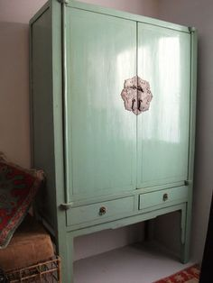 Chinese Wedding Wardrobe Chest with Drawers master