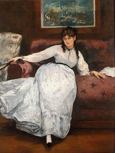 Édouard Manet - Le repos                                                                                                                                                                                 More