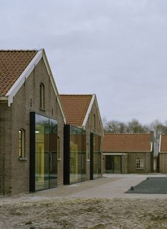 Voormalig strafkolonie nu expositiecentrum Veenhuizen, NL, Atelier Kempe Thill