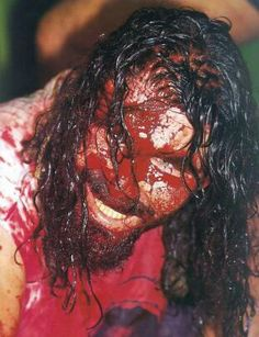"""just found out the wwf's mick foley wrote a new york times bestseller without a ghostwriter. and longhand, """"because his typewriter broke. Ecw Wrestling, Wrestling Superstars, Best Wrestlers, Mick Foley, Cactus Jack, Professional Wrestling, Image, Divas, Ghostwriter"""