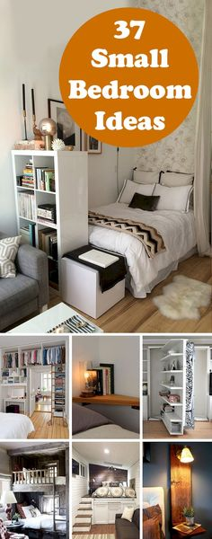 New 30 Best Small Bedroom Ideas and Designs in year Photos -  How to Arrange Bedroom Furniture Style