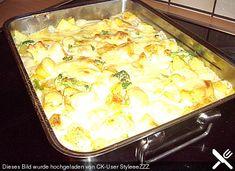 Blumenkohl - Kartoffel - Auflauf