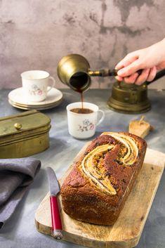 Κέικ Μπανάνας με σοκολάτα – Vegan Banana Bread - The Healthy Cook Vegan Banana Bread, French Toast, Cooking, Breakfast, Healthy, Desserts, Food, Layers, Collection