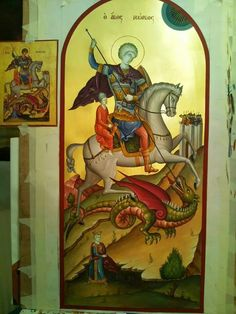 Byzantine Icons, Sf, Religious Art, Traditional, Painting, Lds Art, Painting Art, Paintings, Painted Canvas