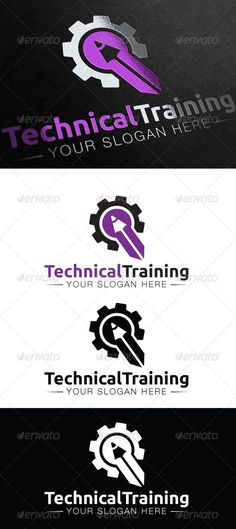 Technical Training Logo #GraphicRiver A clean and modern gear and pencil logo template. This could be used for technical, training, an other related companies. Fonts used : Helvetica Neue font family - freehelveticafont /fonts/13035/helvetica_neue_lt_std.html Ubuntu - font.ubuntu / Created: 9August13 GraphicsFilesIncluded: VectorEPS #AIIllustrator Layered: Yes MinimumAdobeCSVersion: CS Resolution: Resizable Tags: gear #letter #mech #mechanical #pen #pencil #purple #q #rocket #tech…