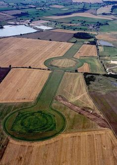 The Thornborough Henges are considered one of the most important ancient sites in Britain. Consisting of a triple henge alignment, it is a complex of three circular mounds with ditches Ancient Aliens, Ancient History, Yorkshire England, North Yorkshire, Cornwall England, Yorkshire Dales, Mysterious Places, Ancient Mysteries, Creepy