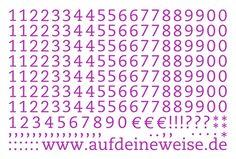 """Alphabet Sticker """"Eva"""" – purple; Bogen 3 (1-0)"""