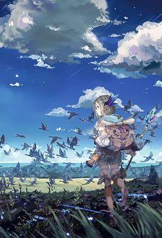 Fantasy birds