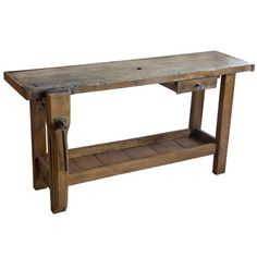 Antique French Carpenter's Bench