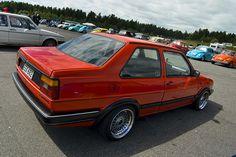 Vw Mk1, Volkswagen Jetta, Golf Mk2, Custom Muscle Cars, Vw Cars, Jdm, Classic Cars, Vehicles, Engine
