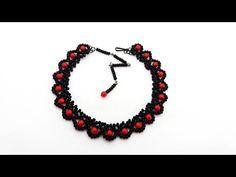 Основа колье бусины бисероплетение Черемисина Scarabeads beads