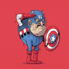 Old Captain America