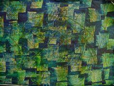 Kleisterpapier / paste paper by papierundfarbe, via Flickr