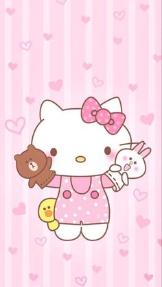 Check out this awesome collection of Hello Kitty iPhone wallpapers, with 45 Hello Kitty iPhone wallpaper pictures for your desktop, phone or tablet. Hello Kitty Iphone Wallpaper, Hello Kitty Backgrounds, Sanrio Wallpaper, Kawaii Wallpaper, Lines Wallpaper, Kitty Cam, Love Wallpaper Download, Hello Kitty Imagenes, Hello Kitty Themes