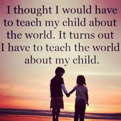 Hearing parents of deaf children <3 our children change the world with every person they meet (: