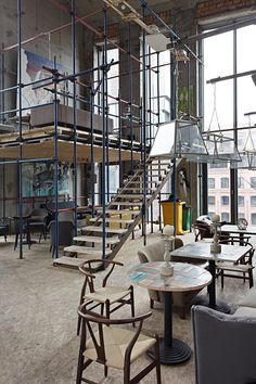 Art bar Door 19 spearheads move to transform Moscow's riverside warehouse…