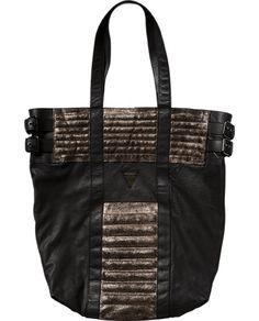Leather shopper - Maison Scotch Online Shop www.scotch-soda.com/scotchrocks #scotchrocks