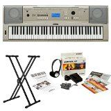 Yamaha YPG-235 76-Key Portable Grand Piano Keyboard Bundle with Knox Double X Stand and Yamaha Survival Kit (Includes Power Supply and 2 Year Extended Warranty) - http://shopattonys.com/yamaha-ypg-235-76-key-portable-grand-piano-keyboard-bundle-with-knox-double-x-stand-and-yamaha-survival-kit-includes-power-supply-and-2-year-extended-warranty/