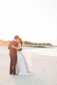 Rustic Beach Wedding Ideasa