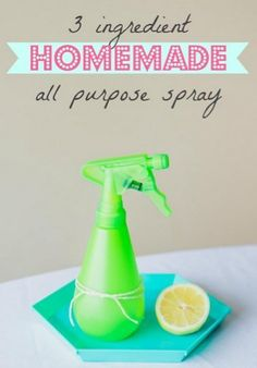 Save major bucks by making your own all-purpose cleaning spray