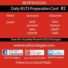 Free Daily #IELTS Exam Preparation #2  >>>>>>>> Share and Follow Us <<<<<<<< http://www.ieltstrategies.com  https://www.facebook.com/pages/IELTS-Strategies/843554132329849 https://www.facebook.com/groups/600118753436854/ https://plus.google.com/+Ieltstrategiesieltspreparation/ https://twitter.com/ieltstrategies  http://www.pinterest.com/evangelineemeka/ielts-preparation/ http://ieltstrategies.tumblr.com/ <<<<<<<<>>>>>>>>>>>>>>>>>