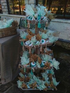 """""""Evileye"""" handmade favors for baptism. All White, Wedding Planner, Favors, Handmade, Painting, Wedding Planer, Presents, Hand Made, Guest Gifts"""
