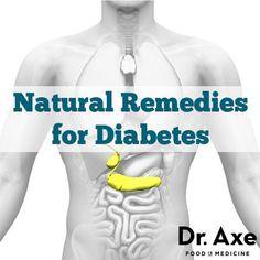 Natural remedies for Diabetes: Chromium Picolinate, Cinnamon, Fish Oil, Alpha-Lipoic Acid, Fiber, Burst Training, and Coriander essential oil.