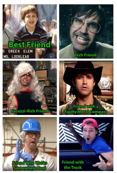 """Link: """"Everyone needs at least 6 friends""""...""""Oh my gosh... This is awesome..."""""""