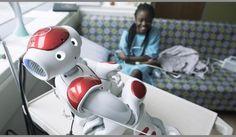 'BuddyBot' dances, tell stories, explains scary medical stuff to Wolfson Children's Hospital patients in Jacksonville, FL (Dec. 2016)