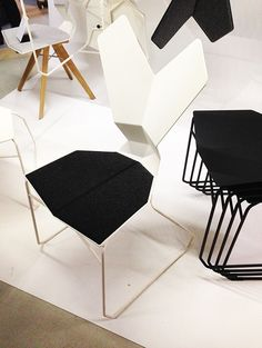 Tom Dixon's new 'Y' Chair, as released at LDF13. See more from Tom Dixon here: http://www.nest.co.uk/browse/brand/tom-dixon