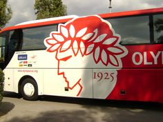 Olympiakos F.C. - Bus Greece, Football, My Favorite Things, Sports, Image, Greece Country, Soccer, Hs Sports, American Football