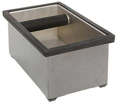 Rattleware 25632 Stainless Steel Knock Box Set, 9 by 5.5 by 4-Inch, Silver