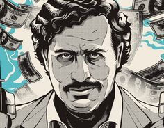 Pablo Escobar illustrations