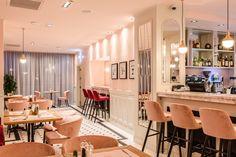 pink restaurant interior design picktwo studio