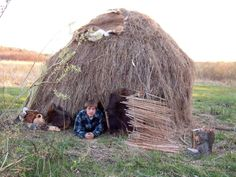 Thatch Hut   I will make this come summer!