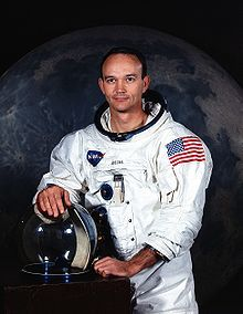 Michael Collins (born October 31, 1930) is a former American astronaut and test pilot. Selected as part of the third group of fourteen astronauts in 1963, he flew in space twice. His first spaceflight was Gemini 10, in which he and command pilot John Young performed two rendezvous with different spacecraft and Collins undertook two EVAs. His second spaceflight was as the command module pilot for Apollo 11. While he orbited the Moon, Neil Armstrong and Buzz Aldrin made the first manned…