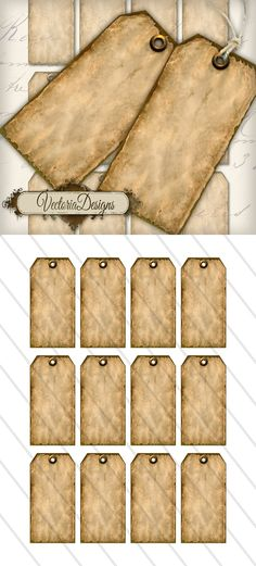 Printable Antique Labels by VectoriaDesigns on DeviantArt