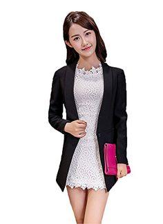 My Wonderful World Women's One Button Shawl Collar Lady Blazer Suit Small Black My Wonderful World Blazer Coat Jacket http://www.amazon.com/dp/B018QPRNY6/ref=cm_sw_r_pi_dp_-ecxwb1J7SKZ4