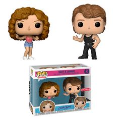 Dirty Dancing: Baby and Johnny Funko Pop! Vinyl Figure Pack - Available exclusively at Target Funk Pop, Disney Pop, Dirty Dancing, Dancing Baby, Skottie Young, Otaku, Mystery Minis, Rocket Raccoon, Harry Potter
