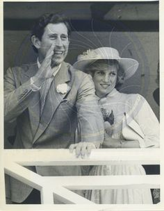 April 12, 1983: Prince Charles & Princess Diana in Buderim, Queensland, Australia.
