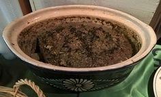 La grosse terrine de frère Tuck à la #chartreuse et aux herbes.  Dégustation aux caves Bossetti #FousDeChartreuse