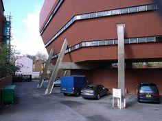 The Florey Building, Oxford, 1967-72, James Stirling, architect